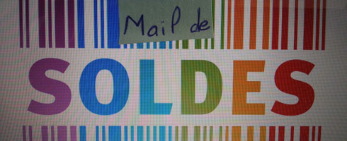 post it mail de sur image de soldes
