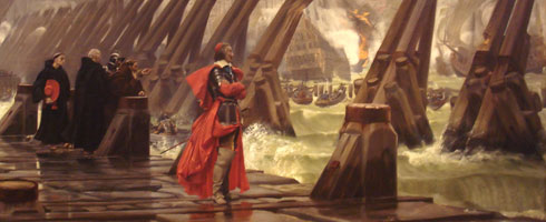 Richelieu au siège de la Rochelle, Henri Motte